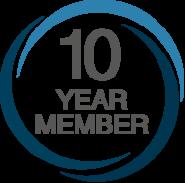 APDO 10 year member logo