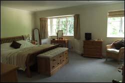 Bedroom after decluttering